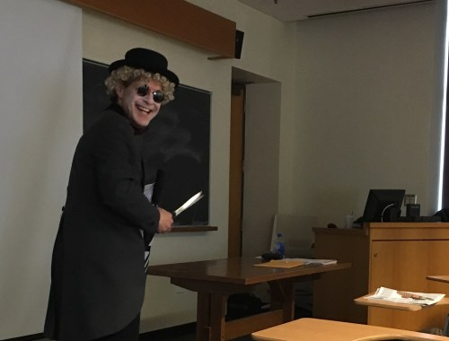 Professor Ken Frieden as Harpo the Professor