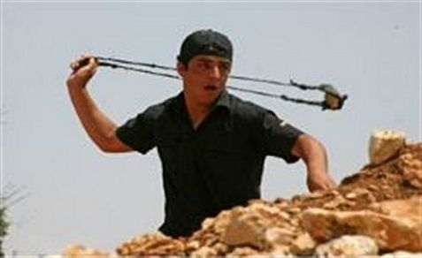 Rock-throwing Arabs are a serious danger on roads in Judea and Samaria.