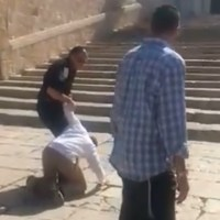 Watch: Rabbi Jeremy Gimpel Arrested on Temple Mount