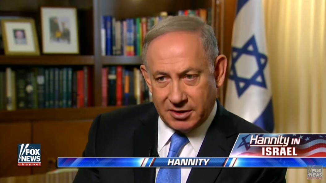 Image result for netanyahu on hannity