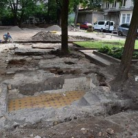 Two Mikvahs Exposed in Vilna's Great Synagogue 70 Years after Destruction