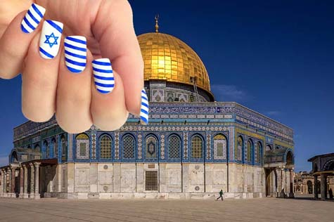 Temple mount flags 1