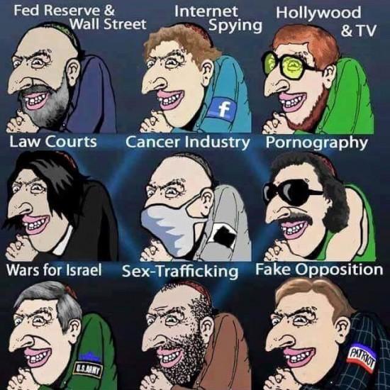jew world order parasites
