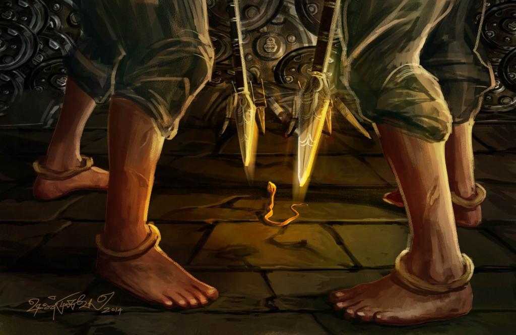 ஓவியம்: ஷண்முகவேல்