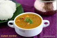 Instant tiffin sambar