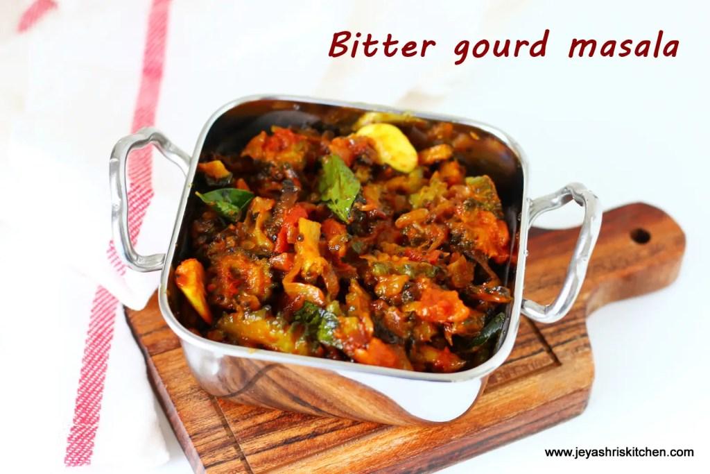 Bitter gourd masala