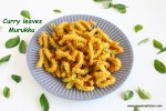 Curry leaves murukku