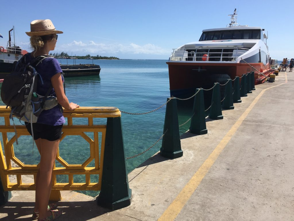 Utila Princess and Utila Dream are the two ferry companies for your trip to and from Utila.