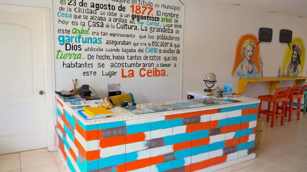 La Ceiba has one great hostel to stay at: 1877 Hostel