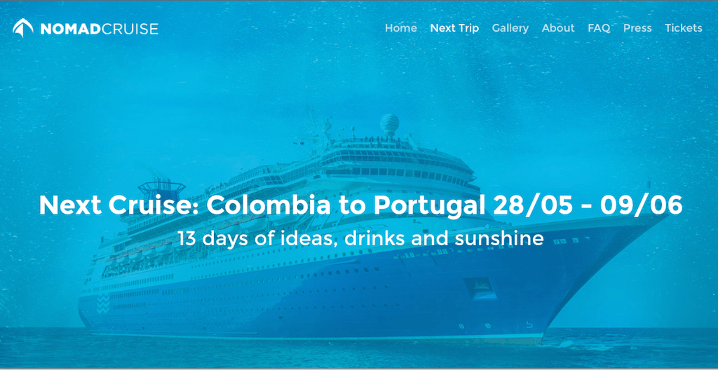 Nomad Cruise from Columbia to Portugal, we are in!