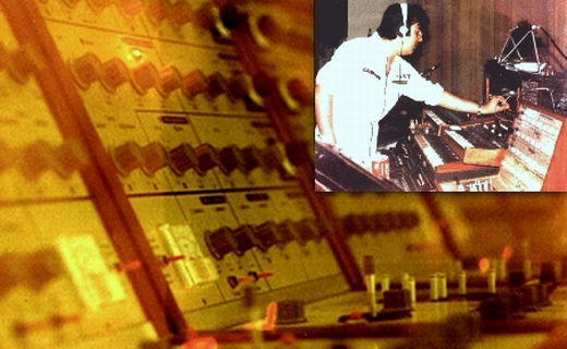 JEZT - 17 Tage Europa - Rainer Sauer - Velvet Universe Live 1980 - EMS VCS3