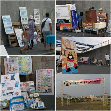 20170717漁港夕涼タマ三郎漁港
