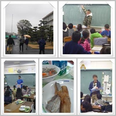 2013.1.22富士見小学校ふれあい給食