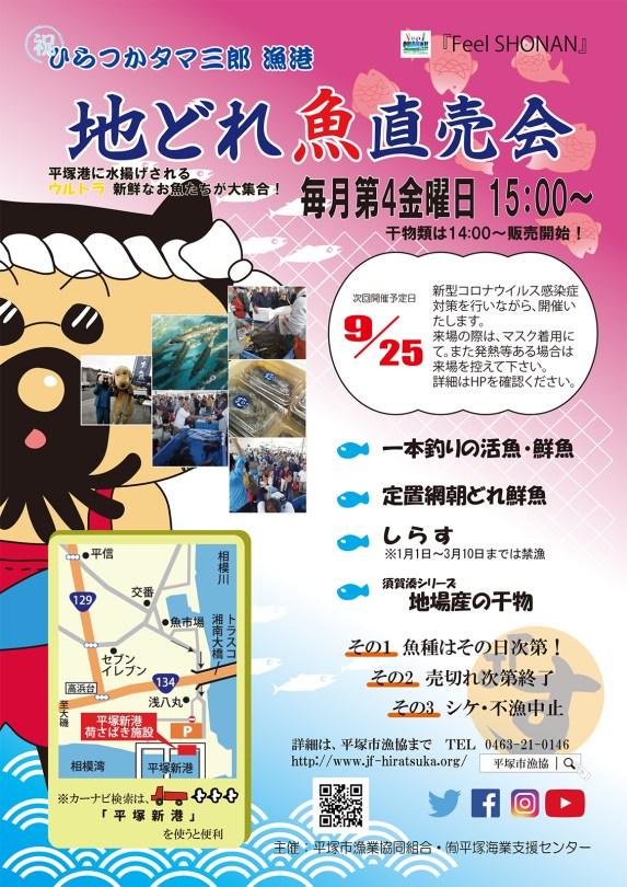 地どれ魚ポスター20200925