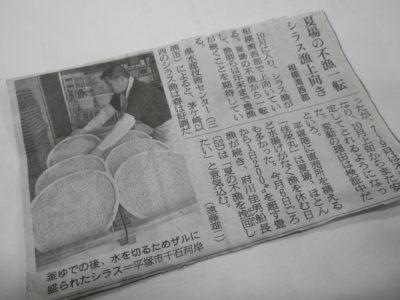 佳栄丸シラス好漁