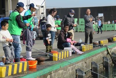 タマ三郎漁港まつり釣りイメージ
