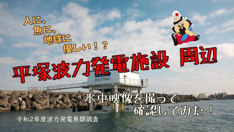 平塚波力発電施設周辺を覗いてみた
