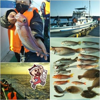 201901アマダイ釣り試験