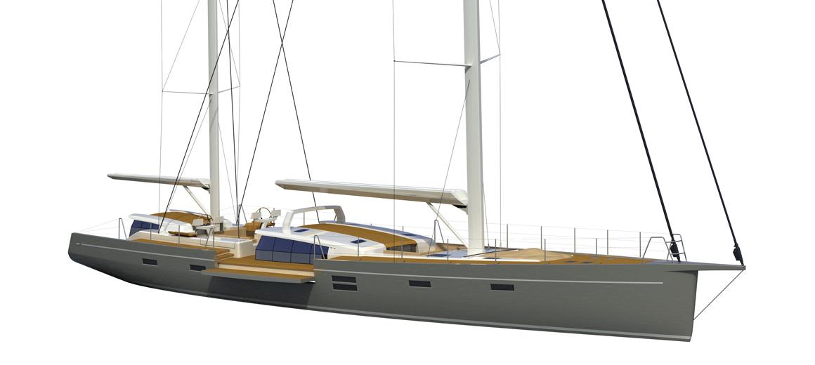 Modern Ketch 100 Sailing Yacht JFA Yachts