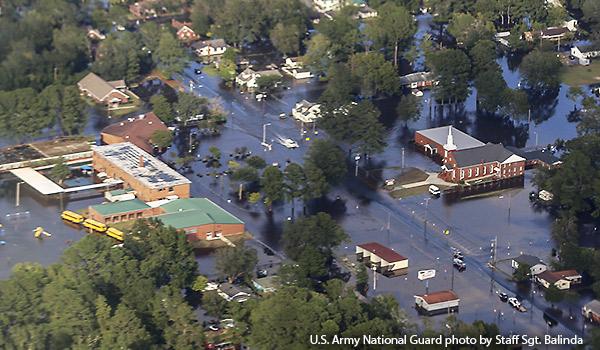 Hurricane Florence Devastation