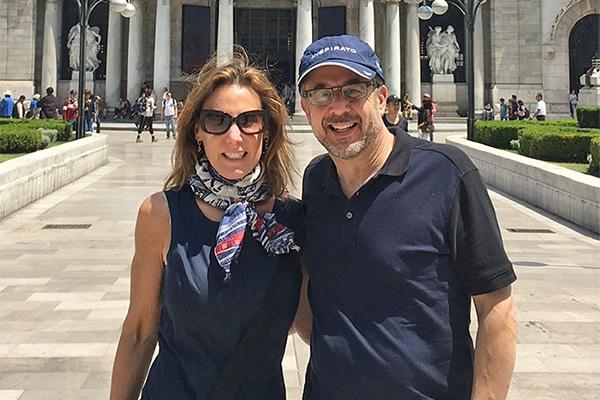 Jacqueline Neuwirth and Stephen Swire