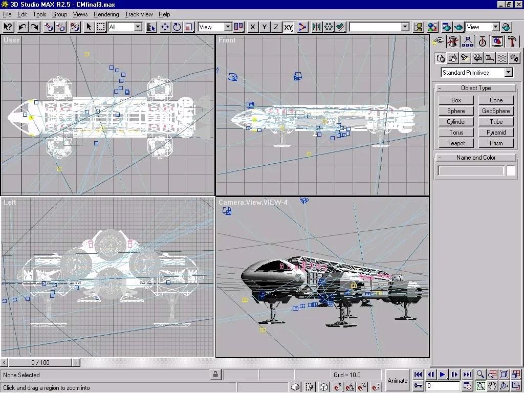 cours design 3d studio max