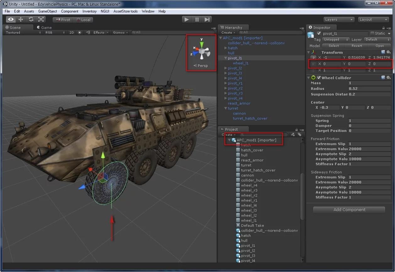 Perfectionnement de design sur Unity 3D Ottawa