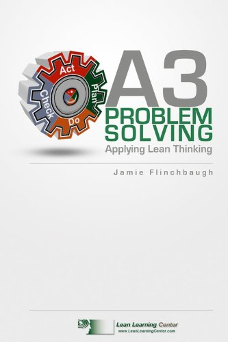 A3 Problem Solving book cover