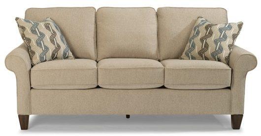 Flexsteel Westside Sofa Johnson Furniture Mattress Mankato Mn