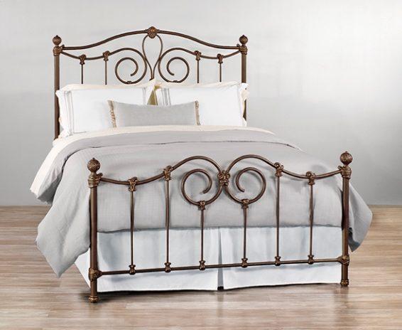 Wesley Allen Iron Bed Olympia Johnson Furniture Mattress