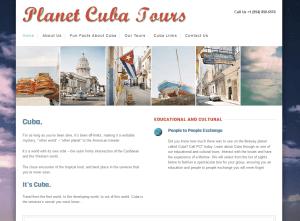 Planet Cuba Tours