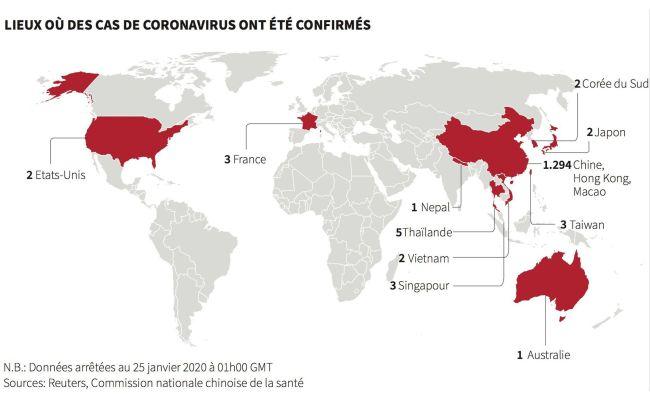 Coronavirus 170 Morts Plus De 7 700 Cas De Contamination