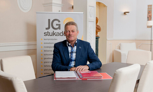 Jan Onderwater van JG Stukadoors Hillegom