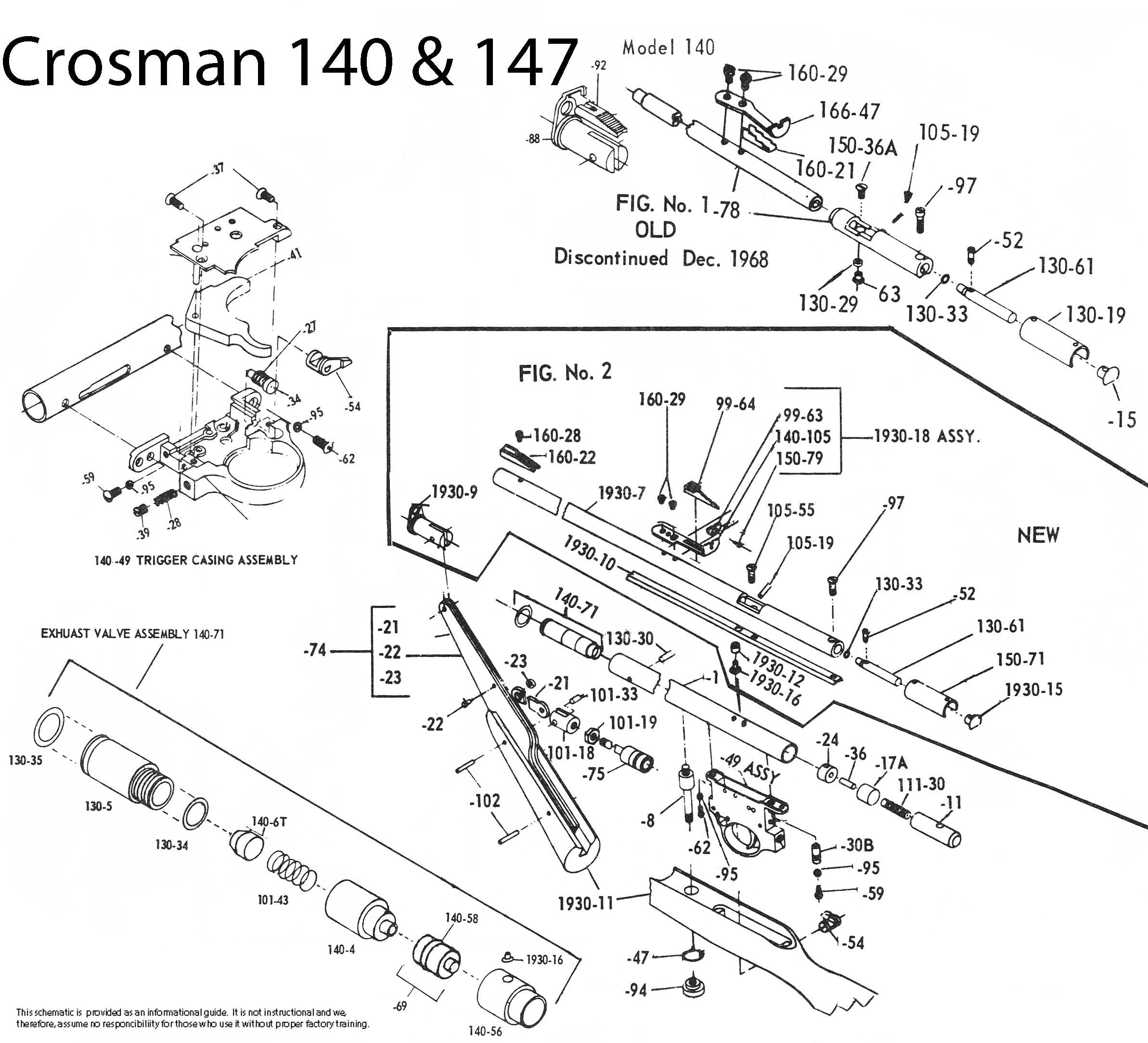 CRS140FSM1972 DOWNLOAD Crosman 140 Factory Service Manual