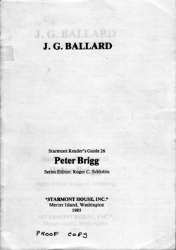 JG Ballard Literary Criticism