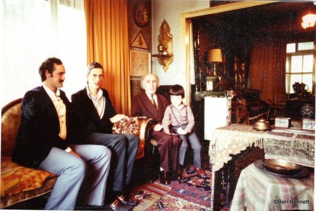 Ben Bennett, son of J.G. Bennett and M. Housden meeting with Hasan Shushud in Istanbul, Turkey
