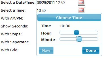 Struts2 jQuery Datepicker Tag with Timepicker Addon