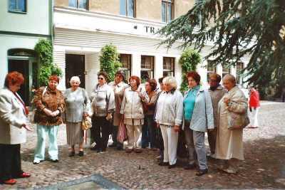 Treffen mit dem Frauenbund aus Wittenberg 2009