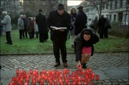 Gedenkveranstaltung zur Pogromnacht (Halle, 2003)