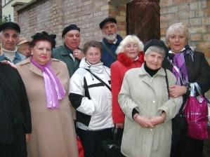 Sukkot mit Frauenbund Erfurt 2010
