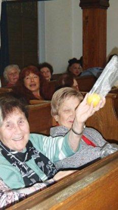 Sukkot für Senioren 2014