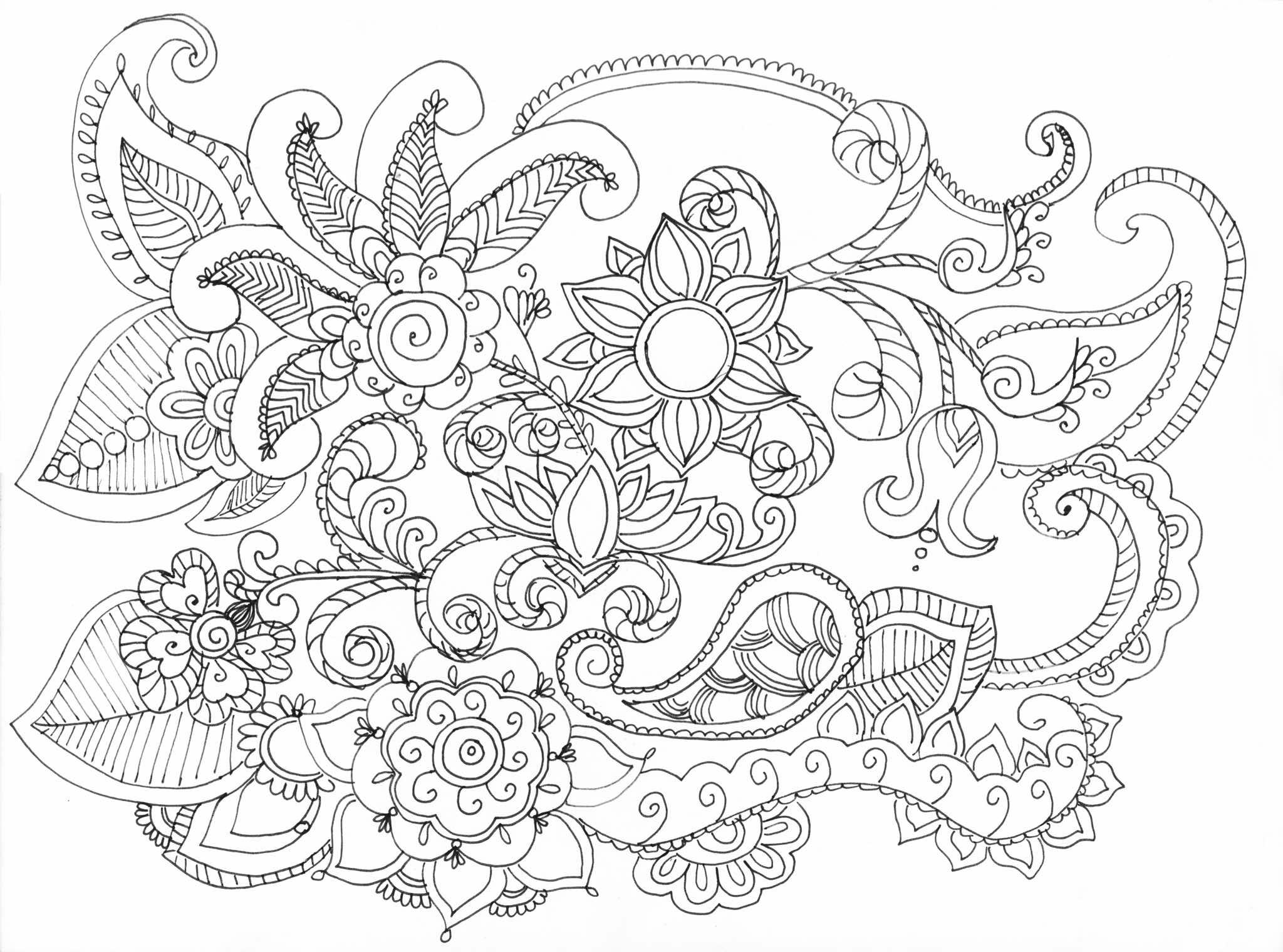 JGHS 2015-2016 Coloring Book Designs