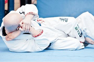 john Gilbert competes in Brazilian Jiu-Jitsu