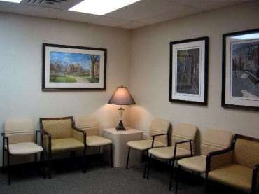 St Paul Office Space Waiting Room