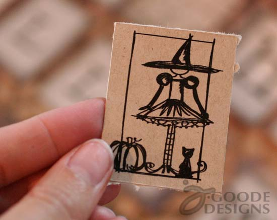 Halloween Digital stamps by Jen Goode at LilGoodies.com