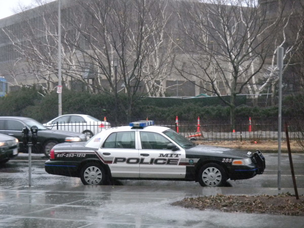 The MIT (Massachussets Institute of Technology) Police - yep, you are really covered there