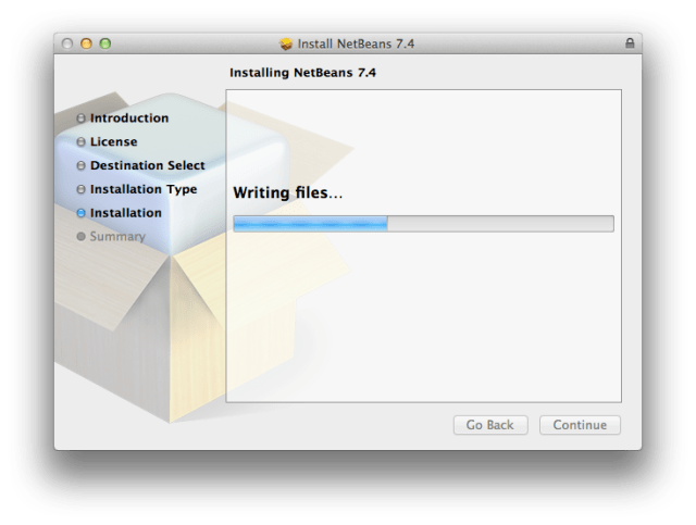 NetBeans is writing files