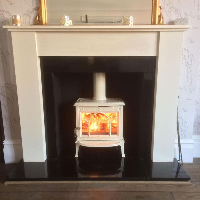 A log burner in Essex