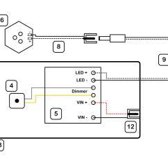 Sky Wiring Diagram Multi Room 2002 Saturn Sl Radio Converting A Light Fixture To Led Jgscraft