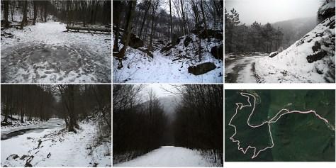 Winterlauf im Helenental bei Baden bei Wien
